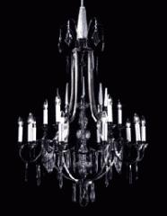 Luster im Stil der Gotik