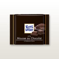 Schokolade Ritter Soprt à la Mousse au Chocolat