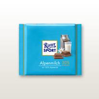 Schokolade Ritter Soprt Alpenmilch