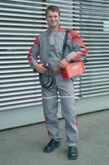 Berufsbekleidung für Schweißer