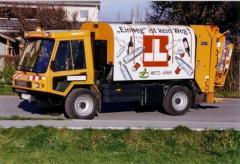 Abfallsammelfahrzeug Rotopress 205 mini