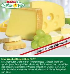 Spar Natur*pur Bio-Käse - ein Stückchen Natur aus