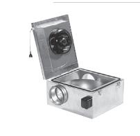 Kasten-Geräte – flache Serie KSDF – schallgedämmt