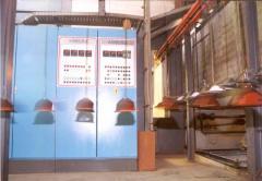 Pulver-Beschichtungsanlage 1