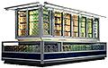 Vertikale Tiefkühlmöbel