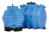 Quellsammelschächte und Trinkwasserspeicher