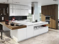 Küche Ultima/strato arktis / nuss