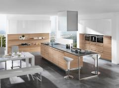 Küche Strato/lucca kernesche / weiß lack hochglanz