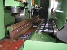 Mechanized equipment for railways: rail-cutting