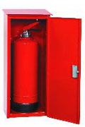 Schutzschränke und Schutzboxen für Feuerlöscher