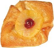 Plunder gebacken  Ananas-Weichseltascherl HGBTK