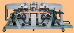 Sargfertigungsmaschinen    Doppelabkürzsäge