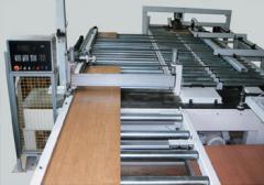 Sondermaschinen  Plattenzuschnittsäge