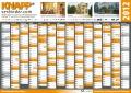 Arbeitsplatte  Wandkalender 2012