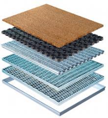 MEA Fußmatten und Rahmen