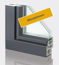 Fenster AluFusion Planic 75