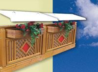 Canteros colgantes para balcon