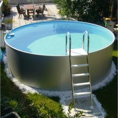 Compact Pool Becken-Set - Tiefe 120 cm