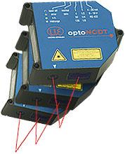 Laser-Sensoren für Weg, Abstand, Position