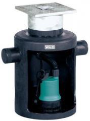Wilo-DrainLift Box Schmutzwasser-Hebeanlage (Unterflurinstallation)