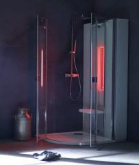 B-intense shower line Ausstattung Standard