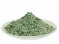 Grüne Mineralerde grüne Tonerde Clay Illite