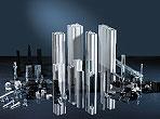 Aluminiumprofile für den Bau