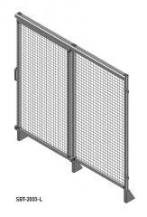 SBT-2000 - Schiebetür in Rasterbreite 2000mm