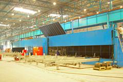 Rohrschleifanlage für die Stahlindustrie