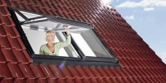Wohndachfenster - Designo R7 Hoch-Schwingfenster
