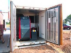 Container-Heizanlagen von BioCont / KSM mit