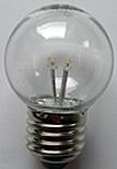 LED Deko-Lampe Klar