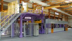 Automatisierung: Fertigungsanlage für Stoßfänger