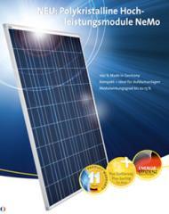 Standard-Photovoltaikmodule