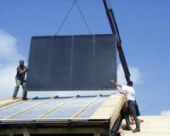 Energiedach-Solarabsorber bis zu 600 kW/Jahr je m²