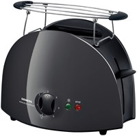 TT611032 Kunststoff Kompakt-Toaster 2/2 electronic