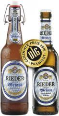 Bier Rieder Helle Weisse