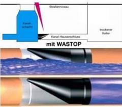 Rückstauverschluss System Wastop