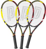 Tennisschläger 3x Pro's Pro E 200