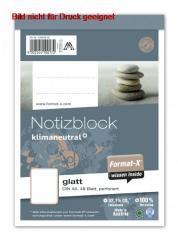 Notizblock A6 48 Blatt 70g/qm glatt