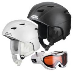 Snowboardhelm Shred + Snowboardbrille