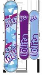 Snowboard Fanatic Lolita