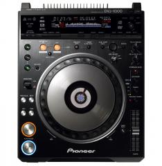 DJ Multiplayer Pioneer DVJ-1000 DVD Scratch Player
