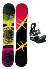 Freestyleboard Riot + Softbindung Special