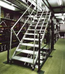 Vario Step - Salbstbautreppensystem