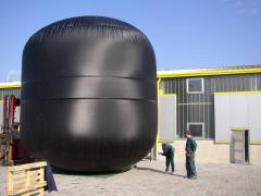 Externe - Gasspeicherbehälter im festen Gebäude