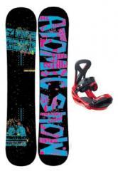 Freerideboard Vantage JP +Bindung Custom