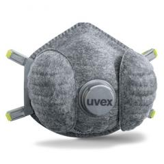 Uvex silv-Air e 7330 FFP3 High Performance climazone Atemschutzmaske