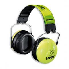 Uvex HI-VIZ Gehörschutzkapseln mit Nachleuchteffekt