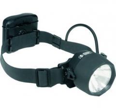 Kopf- und Helmlampe 2640, 3 LED, 1 Halogen,